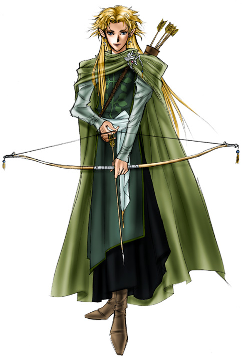 Рисунки с эльфами / Pictures of elves (672 работ)