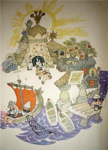 Иллюстратор Леонид Владимирский (590 работ)