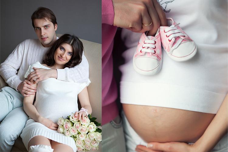 фото красивых беременных девушек с мужем идеи