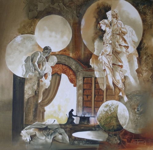 Тонкая философия живописи Roger Suraud (73 работ)