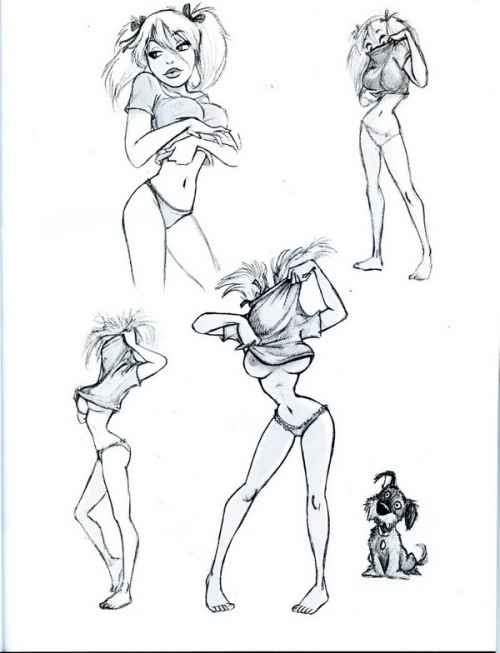 Работы художника Дин Игл /Dean Yeagle (211 работ)