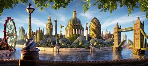 Съедобные пейзажи Карла Варнера (31 работ)