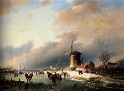 Художник Jan Jacob Coenraad Spohler (1837-1923) (19 работ)