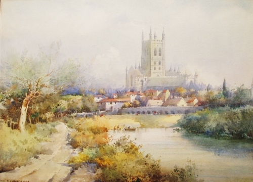 Акварели Noel Harry Leaver (1889 - 1951) (116 работ)