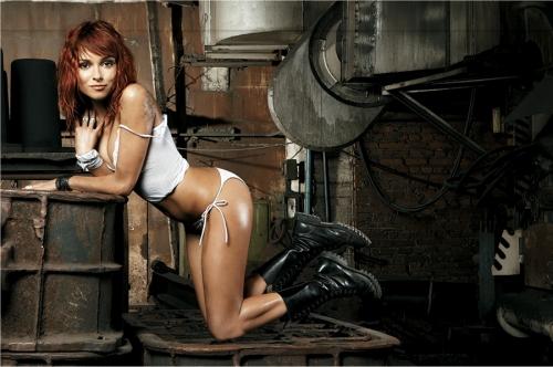 Лучшие модели журнала Maxim (504 фото) (эротика) .