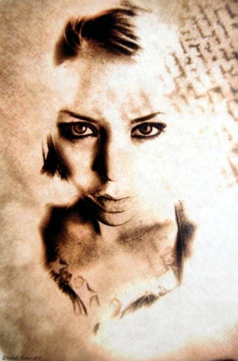 Гламурные портреты Nathalie Rattner (89 работ)