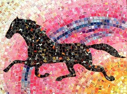 Mosaics by Sandhi Schimmel Gold (47 работ)