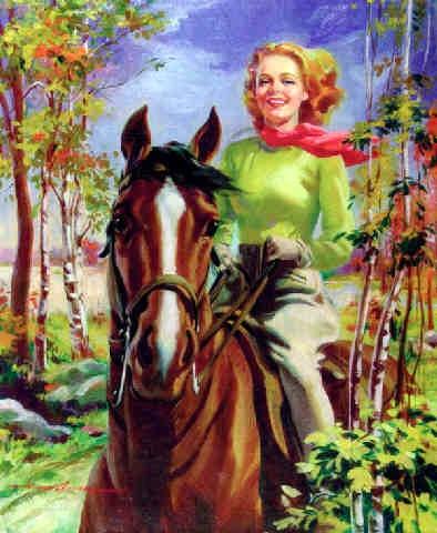 Американский художник-иллюстратор Howard Connolly (18 работ)