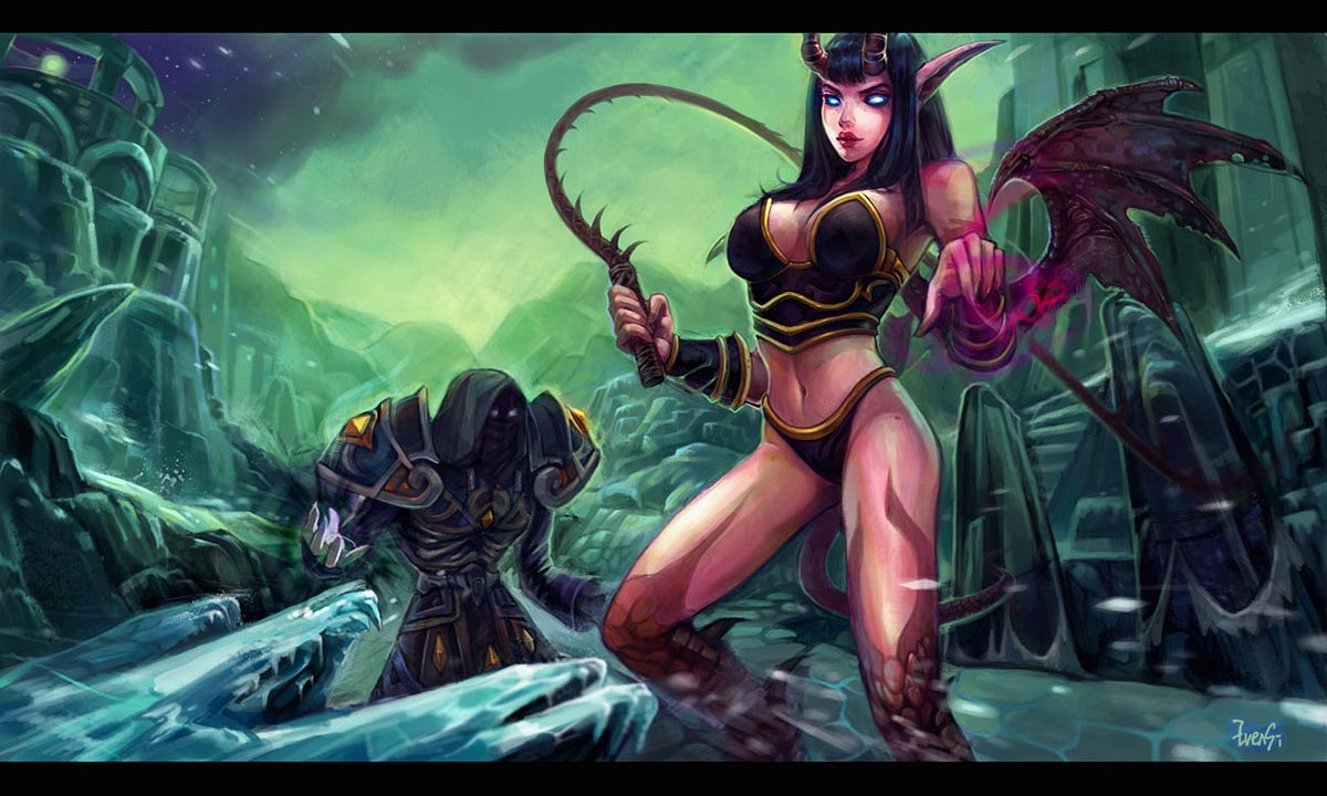 Naga the blood elf sex fucked film