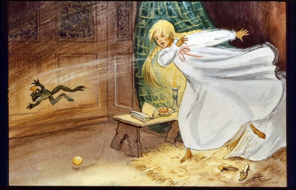 Сказка принц лягушонок картинки