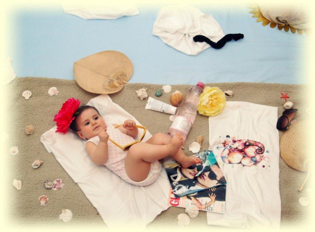 Фотосессия младенцев в домашних условиях идеи