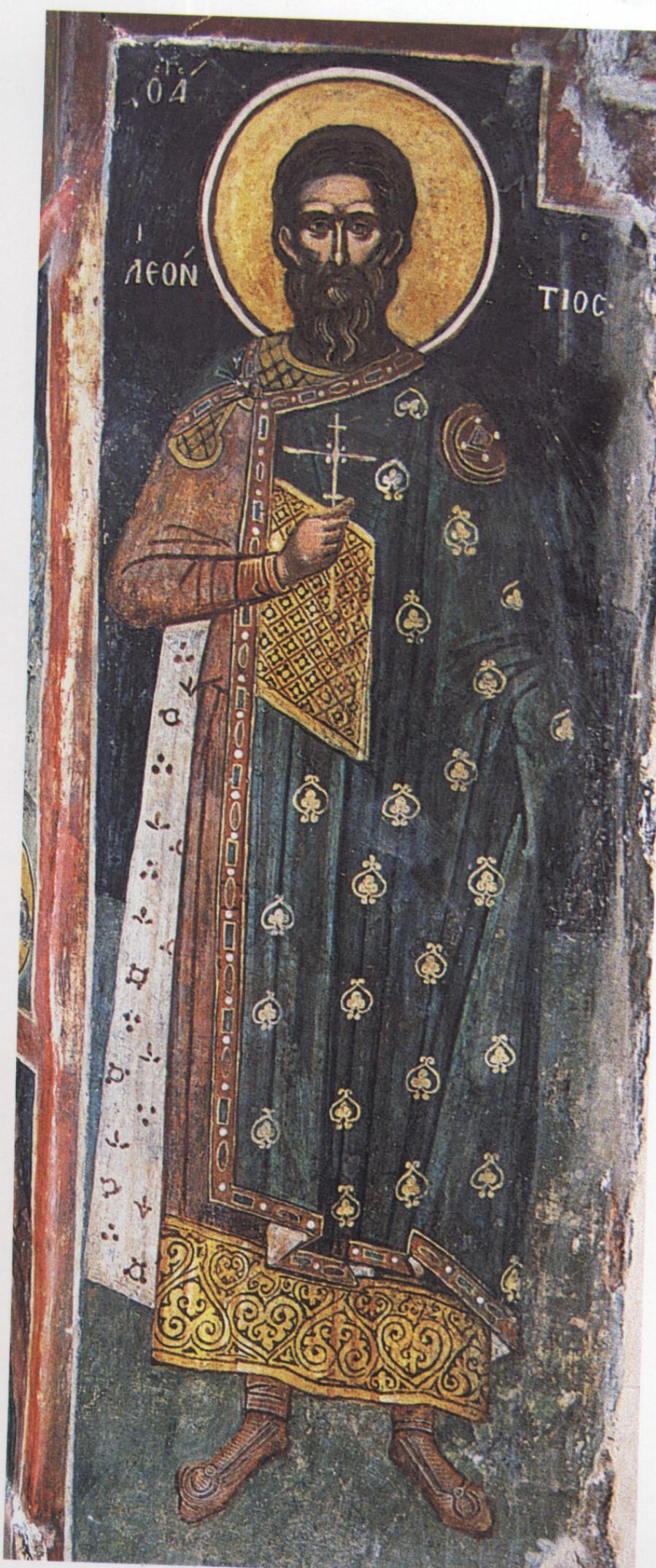 грехэм считает, показать иконы леонтий фото голове