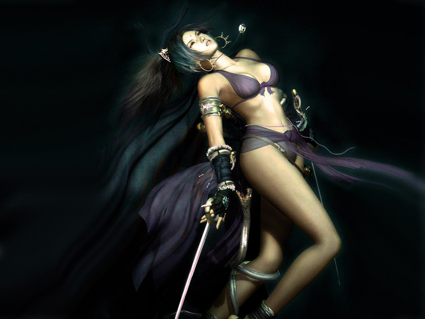 Warriors women girls in erotic death fight  hentay pussy