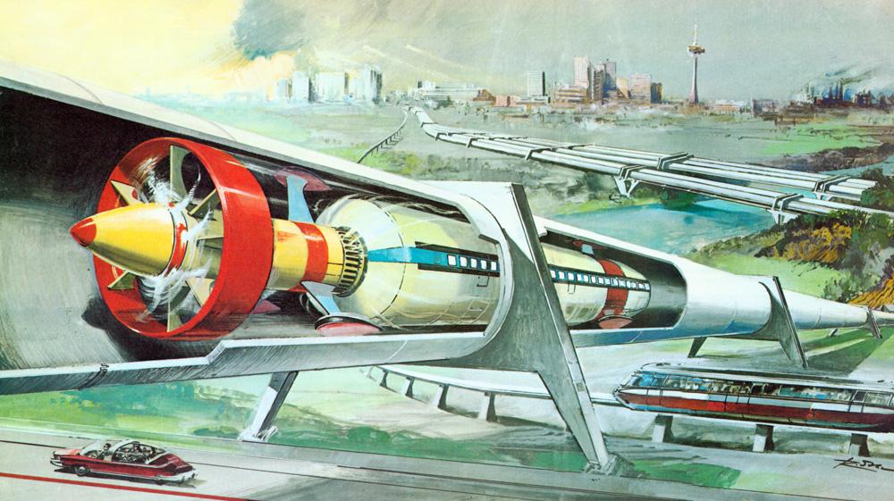 Первая линия высокоскоростной транспортной системы Hyperloop откроется в 2018 году (5 фото + видео)