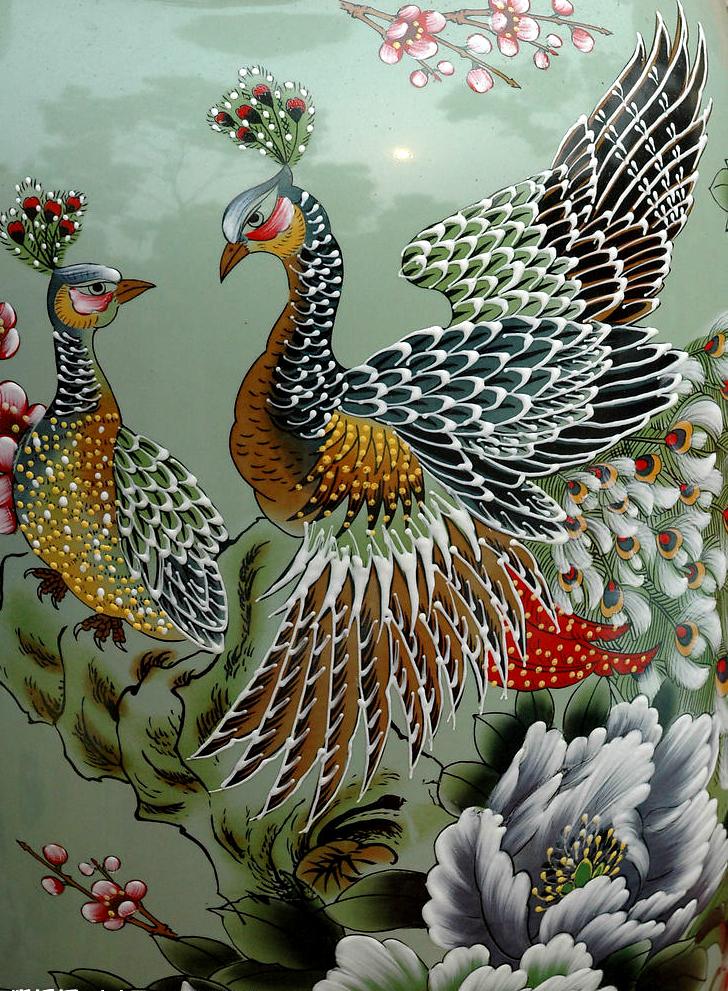 Райские птицы для вышивки 370