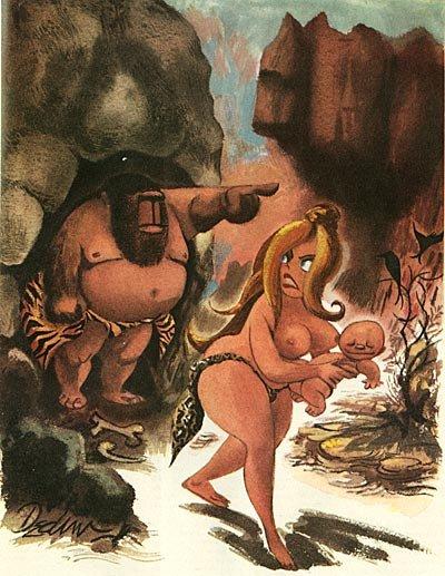 Карикатурист журнала Playboy Eldon Dedini (66 работ)