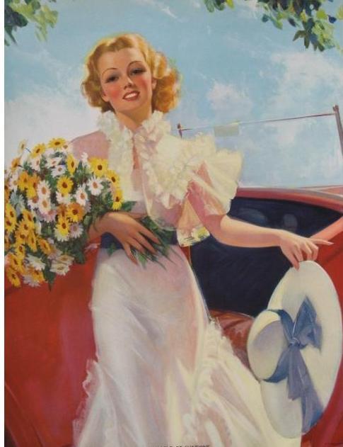 Американский художник и иллюстратор Bradshaw Crandell (69 работ)