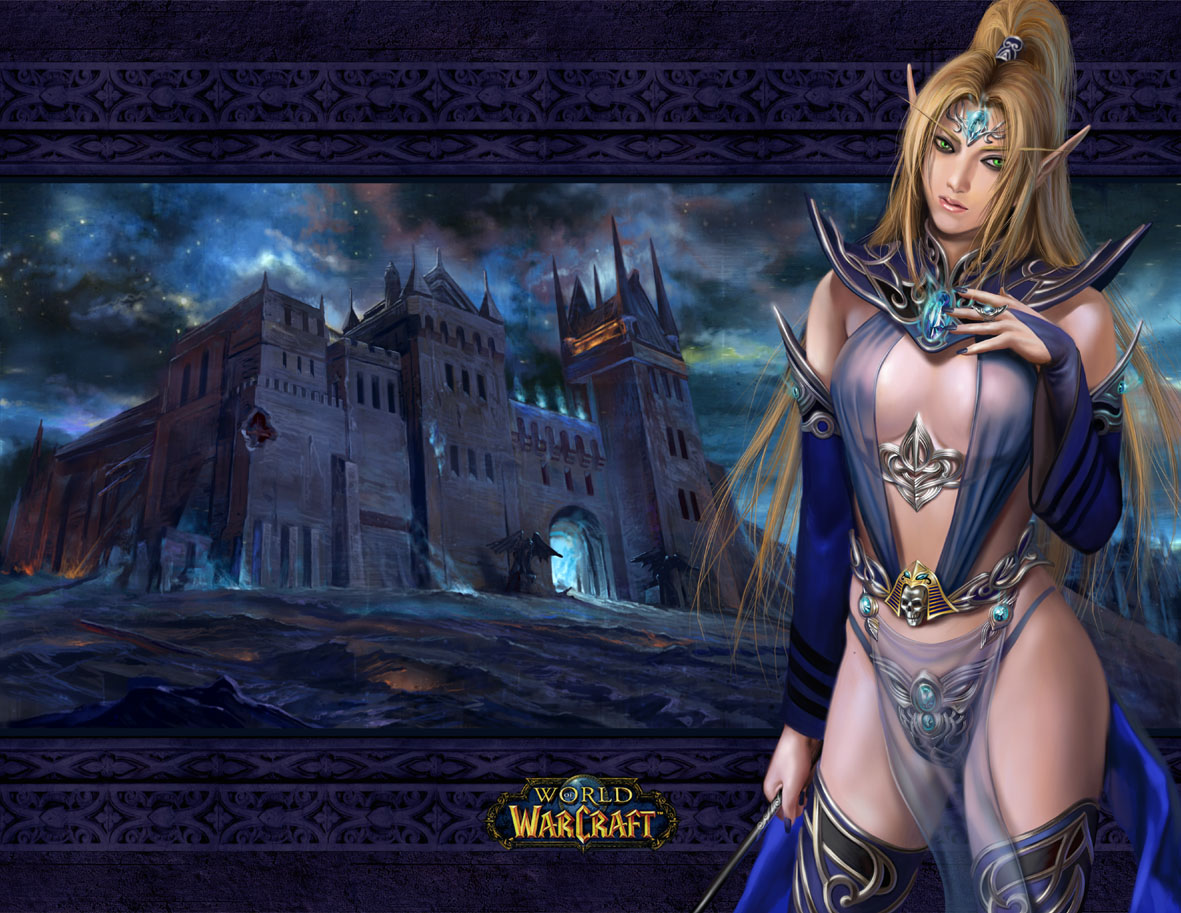 Hot 3d warcraft elves nackt download
