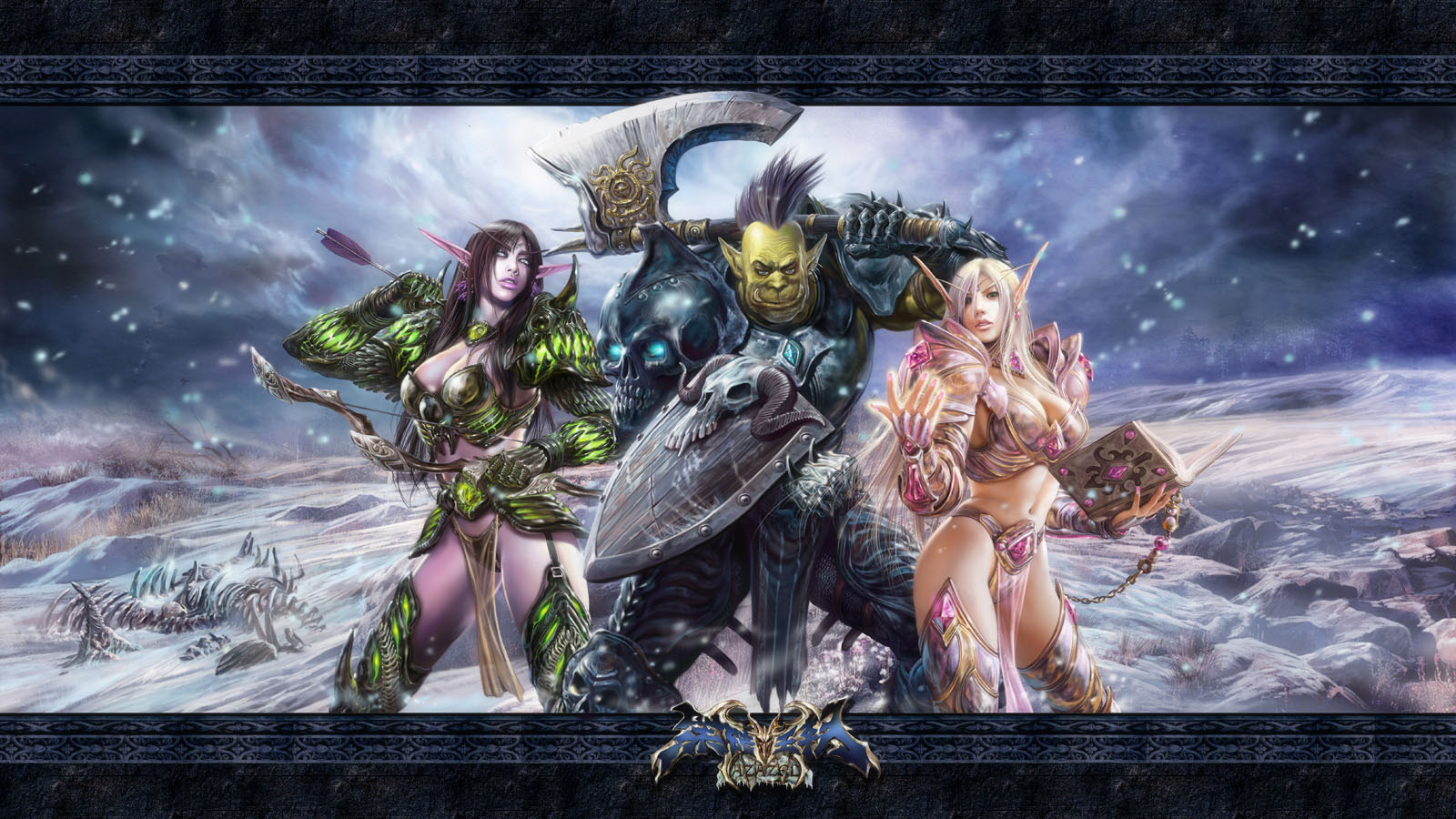 3Dofwarcraft pictures sexy toons