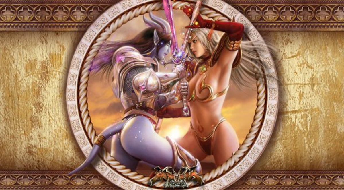 Elven fantasy adult art porncraft videos