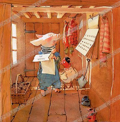 Иллюстратор Холли Хобби (Holly Hobbie) (62 работ)