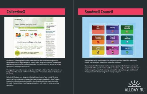 Сборка портфолио дизайнерских студий и фрилансеров-2. Графический, промышленный и веб-дизайн (32 работ)