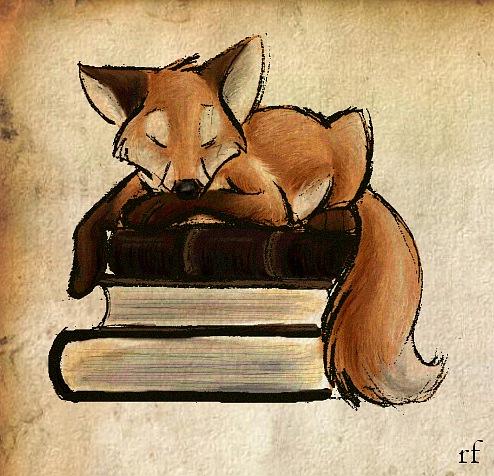 Рисованные лисы картинки 4