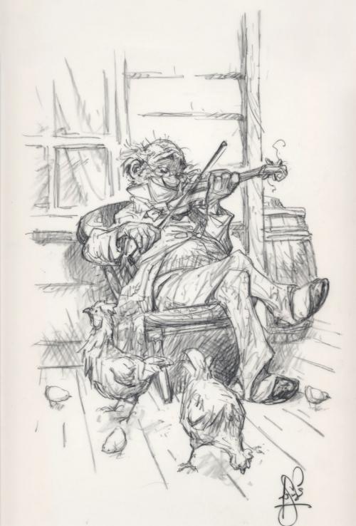Иллюстратор Peter de Seve (215 работ)