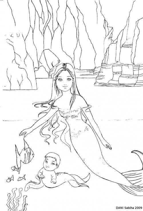 Французский иллюстратор Sabiha DANI (44 работ)