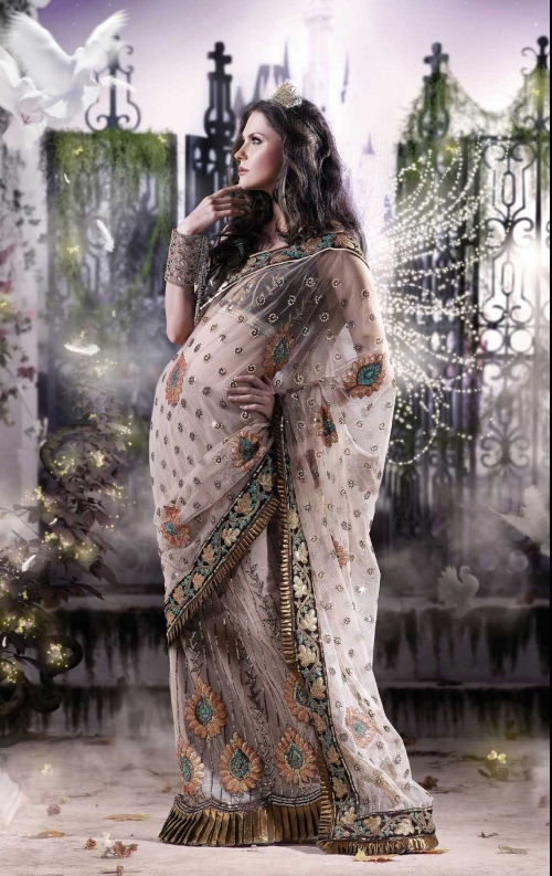 Indian Saris (97 работ)
