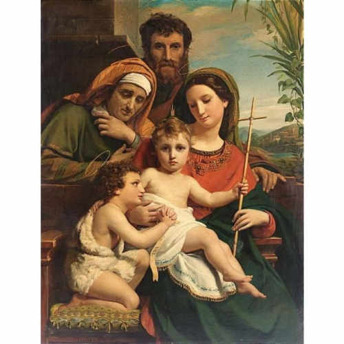 Бельгийский живописец Francois Joseph Navez (1787-1869) (62 работ)