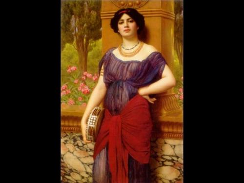 Британский художник Джон Уильям Годвард (1861 – 1922) (138 работ)