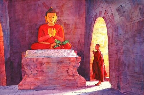 Художник Khin Maung Zaw (15 работ)