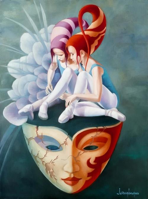 Французский художник Jean-Claude Desplanques (15 работ)