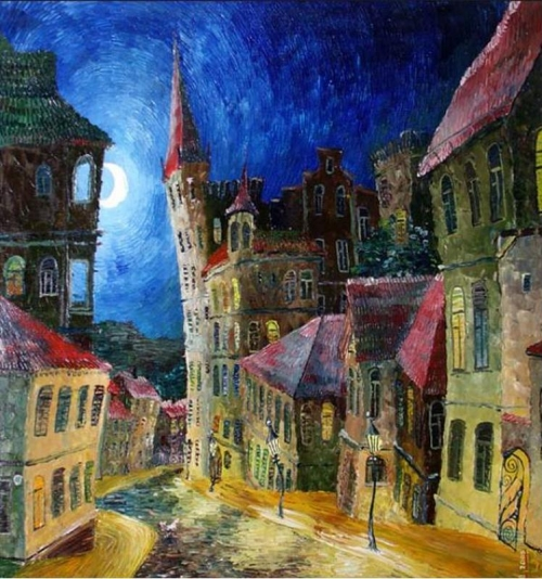 Городской автограф Павла Витановского (106 работ)