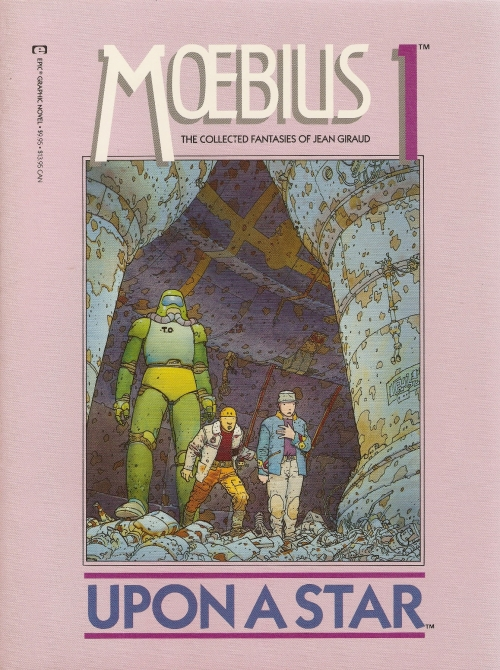 Moebius 1: Upon a Star (Graphic novel) (76 работ)