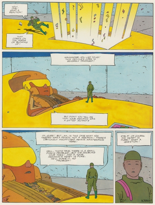 Moebius 1: Upon a Star (Graphic novel) (76 работ)