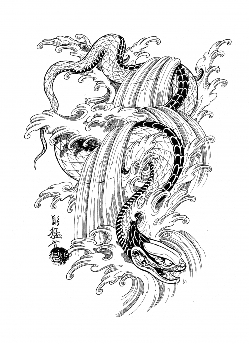 Девушки с изображением змеи выглядят женственно и сексуально.что подарить своими руками: что означает тату змея?
