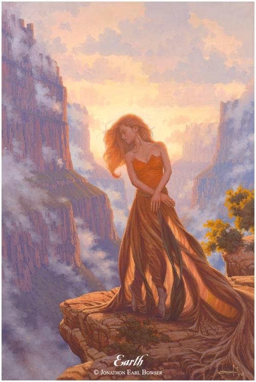 Канадский художник Jonathon Earl Bowser (171 работ)