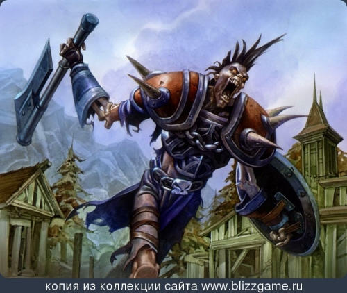 Zoltan Boros & Gabor Szikszai. Галерея Warcraft (76 работ)