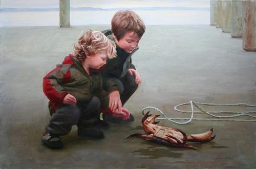 Художник Дмитрий Калюжный (64 работ)