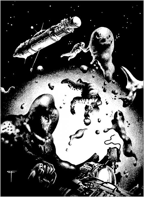 Фэнтези Арт Стивена Эмиля Фабиана | Fantasy Art Stephen E. Fabian (685 работ)