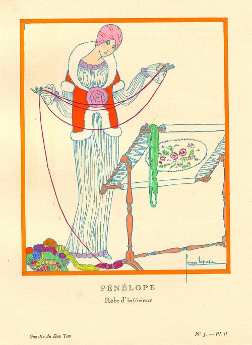 Lepape George - Art Deco Illustrator (135 работ)