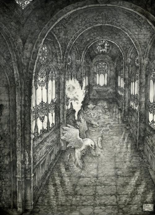 Рисованая графика от Irene Strychalski (90 работ)