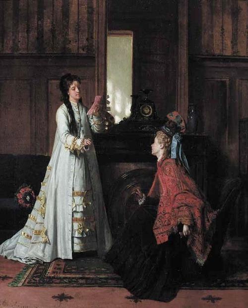 Французский художник Jean Carolus (1814-1897) (37 работ)