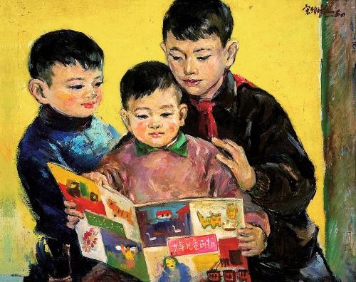 Современная жанровая живопись Китая (105 работ)