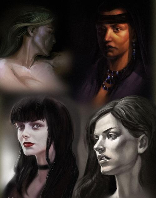 Иллюстрации художника Марии Трепалиной (100 работ)