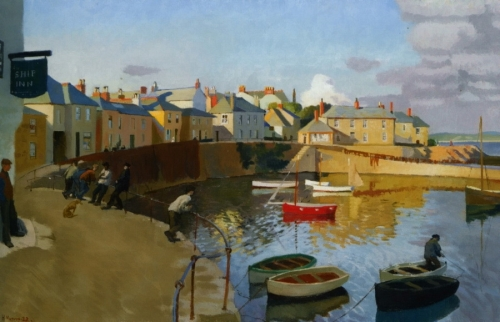 Painting by Harold Harvey (13 работ)