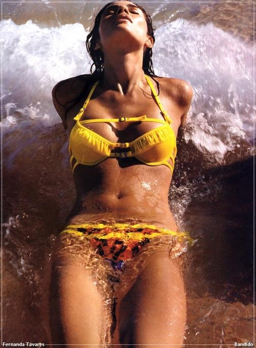 Большая подборка моделей и знаменитостей (Fernanda Tavares) (77 фото)