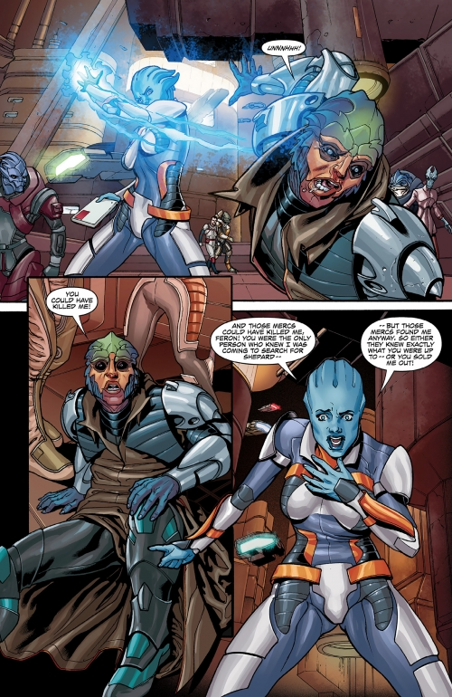 """Комикс """"МассЭффект: Искупление"""" - все четыре части! (Mass Effect: Redemption) (103 работ)"""